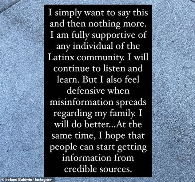Not the same: There appears to be some confusion in her statement, as Hilaria was revealed as a Massachusetts native after claiming to be from Mallorca, Spain, which is not part of Latin America.