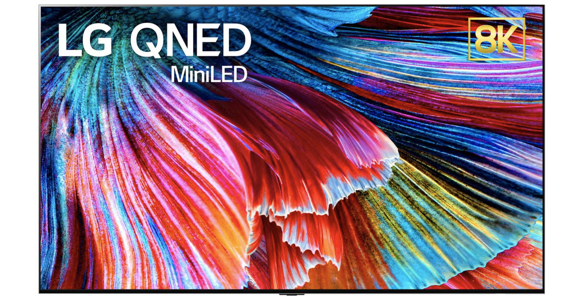 """LG's new """"QNED"""" TVs will have approximately 30,000 small LED lights behind the screen"""