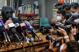 Hong Kong protesters who fled by boat are sentenced to prison in China