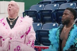 Ric Flair appears in Kevin Hart's Cold as Balls season finale