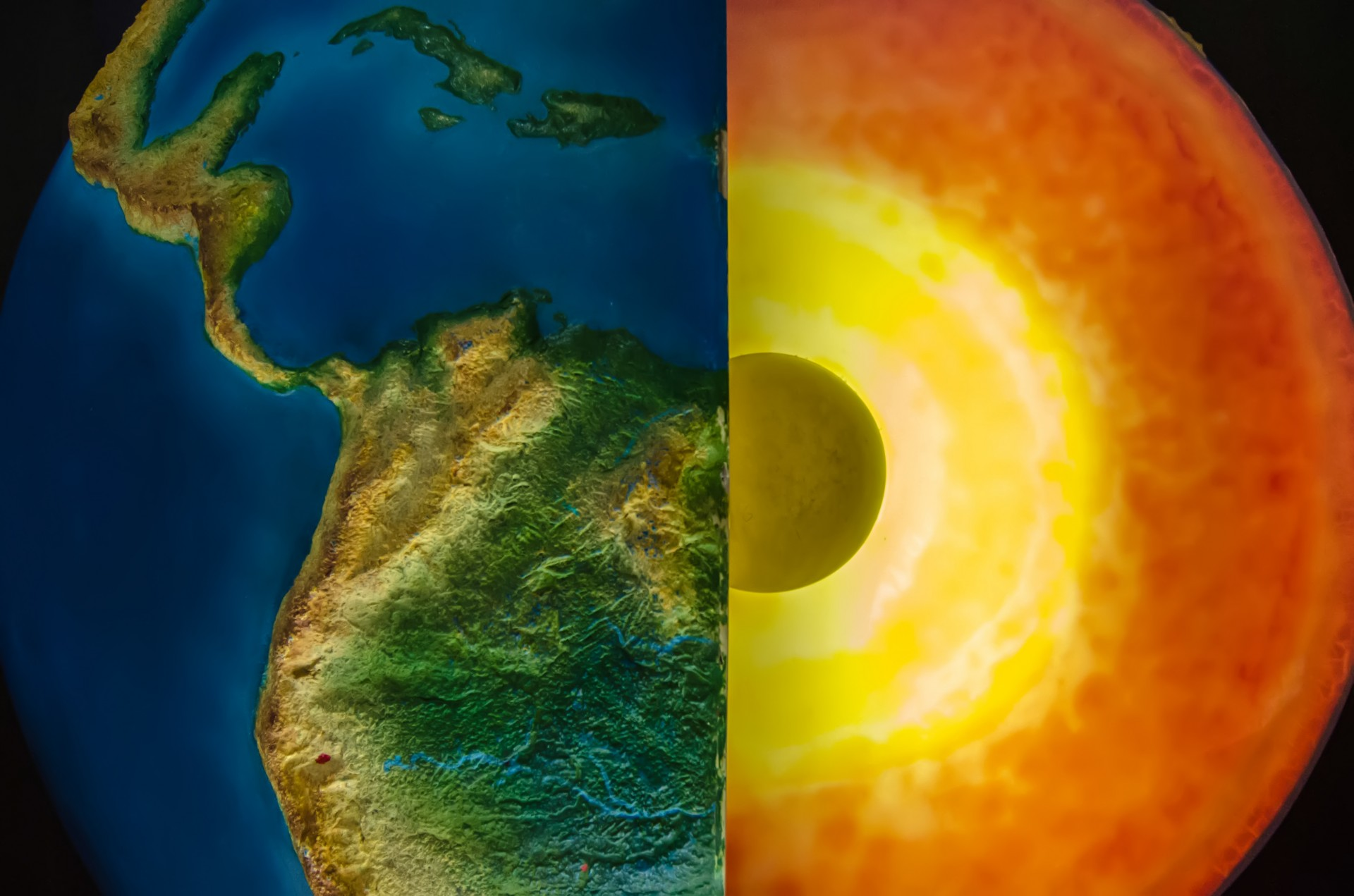 How long is the remaining time until the core of the earth runs out of fuel?