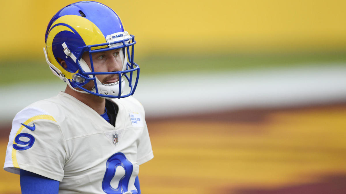 Jared Goff is active as a backup for Rams vs. Seahawks in the wild card game, John Wolford will start, per report.