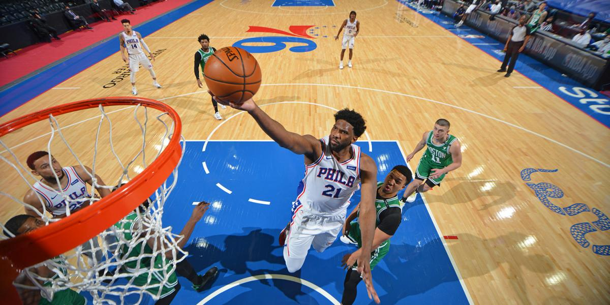 3 notes after the huge Joel Ambiad match helped the Sixers outperform the Celtics