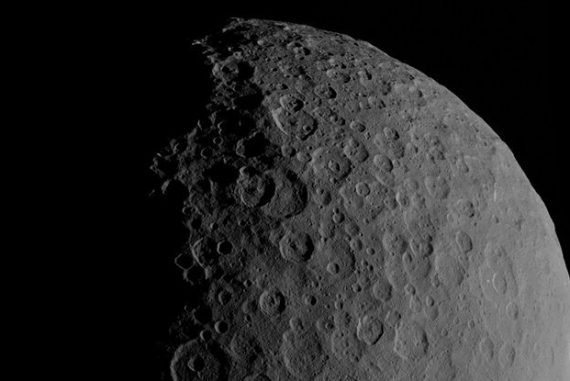 "A scientist said that having a ""giant satellite"" orbiting Ceres would make a good home for humans"