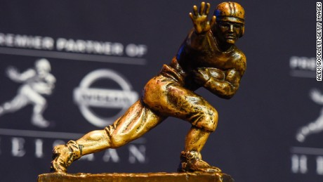 The four finalists of the 2020 Heisman Trophy hail from Alabama, Clemson and Florida