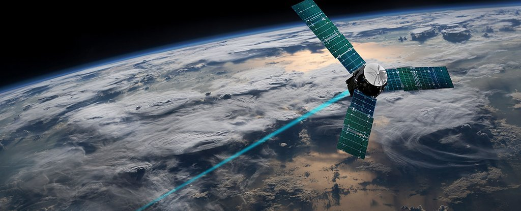 An innovative new laser system cuts through the Earth's atmosphere as if it were nothing