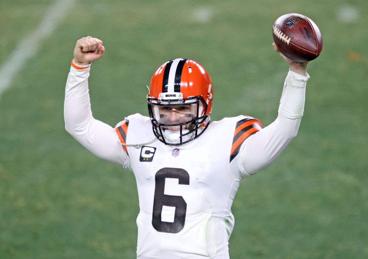 Can Baker Mayfield continue avoiding protests against presidents? Hey Mary Kay!