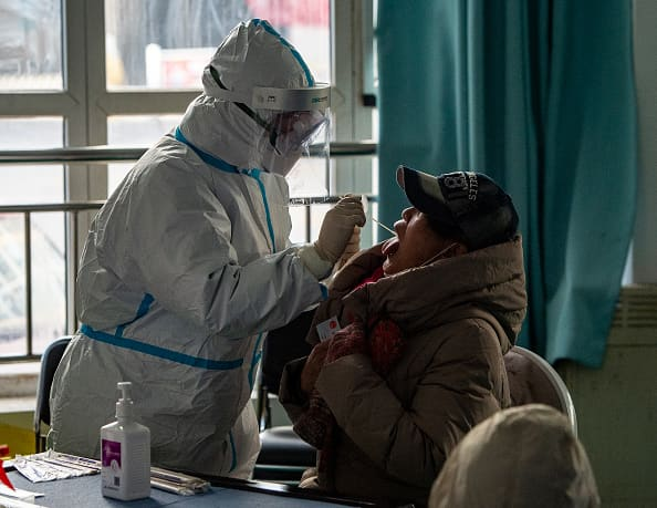 China has locked down part of a province outside of Beijing as coronavirus cases have risen