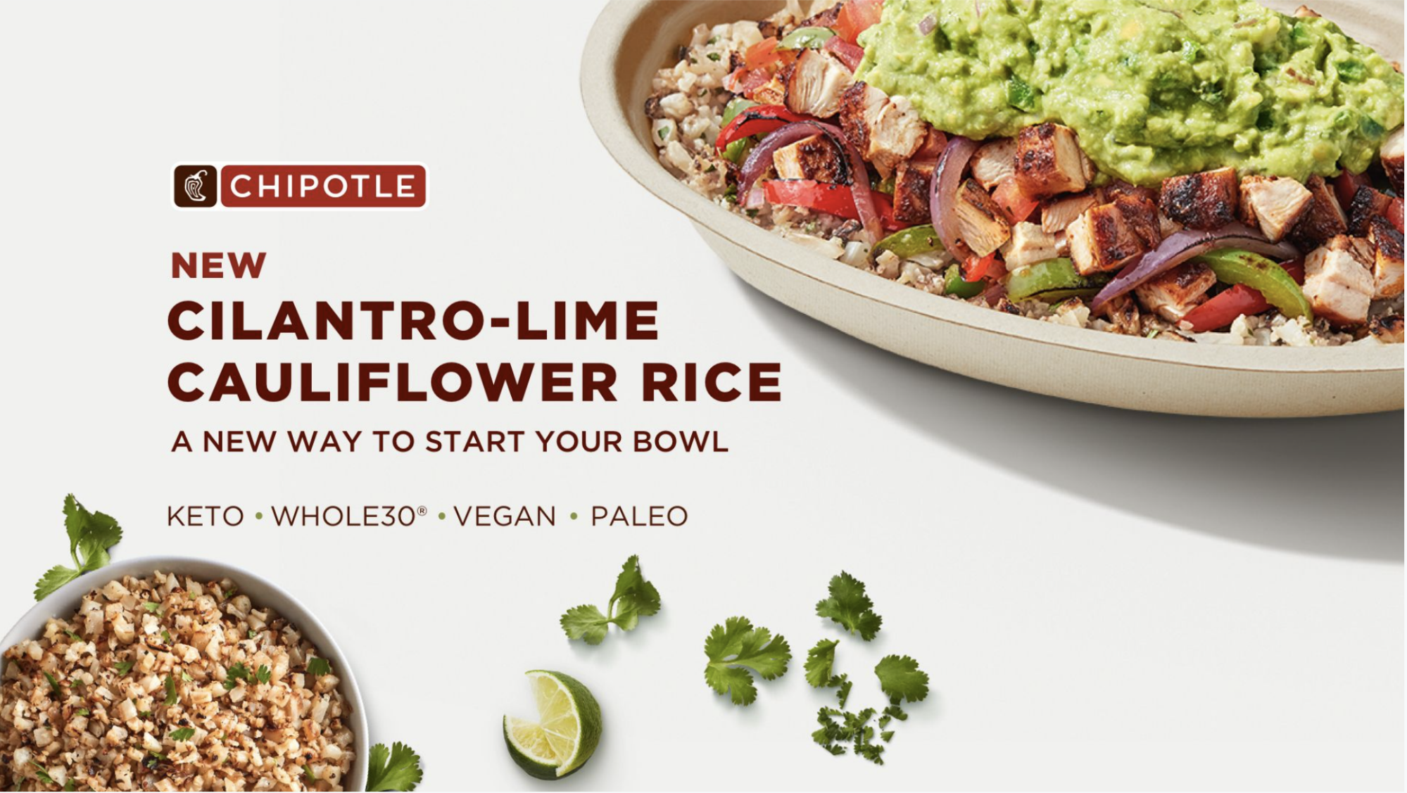 Chipotle's newest food is anti-carb and will cost you an extra $ 2