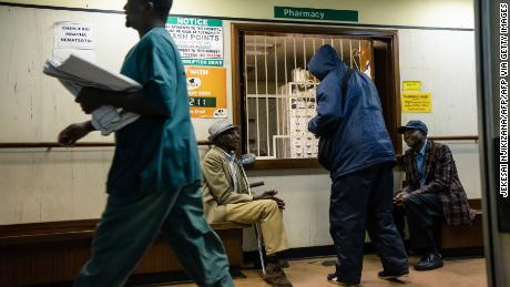 Doctors say Zimbabwe's health system is under pressure as the country continues to hold a new lockdown