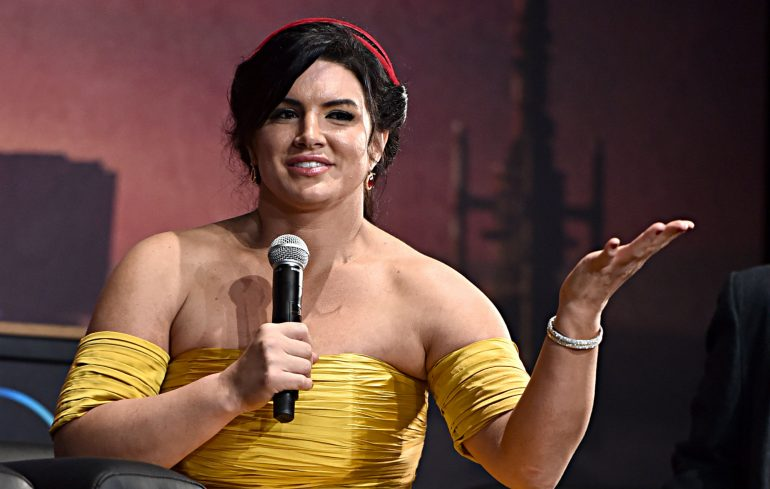 "Gina Carano addresses the ""Mandalorians"" reaction"