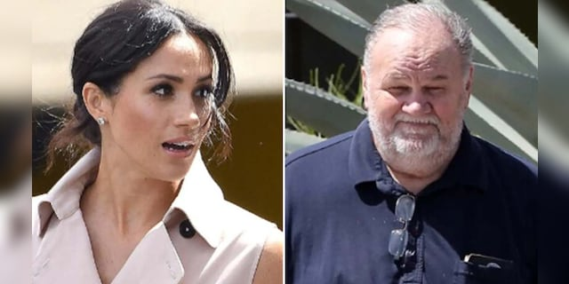 "Thomas Markle, Meghan Markle's father, Duchess of Sussex, said he posted their private correspondence because he felt poetry ""Blameworthy"" Through an article in which their relationship was addressed. (Getty Images)"