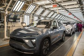 Nio and Tesla are vying for dominance in the electric vehicle market in China