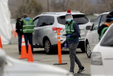 People in cars line up for COVID-19 testing outside of the Maverik Center in West Valley City on Tuesday, Dec. 22, 2020.Beginning Dec. 28, Salt Lake County will offer rapid COVID-19 tests at the center, 2050 W. 3100 South, Monday through Saturday,10 a.m. to 3 p.m. No testing will be conducted Dec. 31 through Jan. 2, and registration is required at SaltLakeHealth.org.