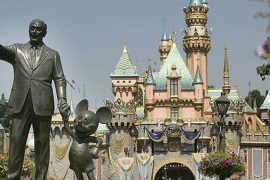 Vaccines for COVID-19 will be given at Disneyland